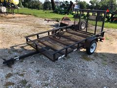 Carry On 8x5 Utility Flatbed Trailer