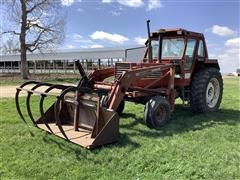 Hesston 1380 2WD Tractor W/Loader
