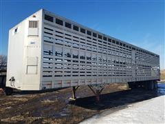 1994 Eby Aluminum 52' Livestock Trailer