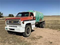 1974 Chevrolet C60 Flatbed Truck W/Water Tank