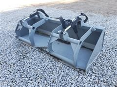 "2020 Hawz 80"" Wide Grapple Bucket Skid Steer Attachment"
