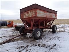 M&W Little Red Wagon 500 Bu 2 Compartment Gravity Flow Wagon