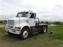 1996 International 8100 Flatbed Truck