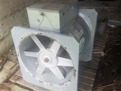 Sukup Axial Fan W/Baldor Electric Motor
