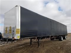 2012 Transcraft T/A Curtainside Flatbed Trailer