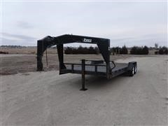 2001 Temco T/A Flatbed Trailer