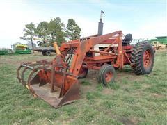 1972 International 1066 2WD Tractor W/Farmhand 236 Loader