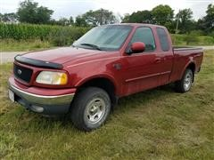 2000 Ford F150 SuperCab Short Bed 4X4 Pickup