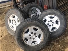 Chevrolet 6 Bolt Aluminum Rims & Tires