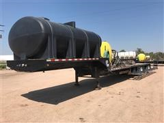 2008 B-B Drop Deck Chemical Sprayer Trailer