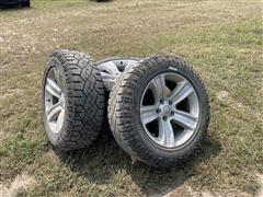 Goodyear Wrangler 275/60R20 Tires & Dodge Rims