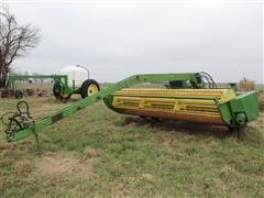John Deere 1380 Pull-Type 14' Hydraulic-Swing Windrower
