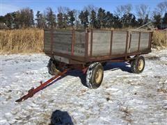 Hydr Dump Wagon On Westendorf Running Gear