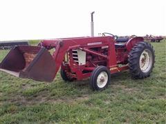 1950 International 240 2WD Industrial Tractor w/ Loader