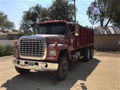 1977 Ford LT9000 T/A Dump Truck