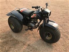 1984 Kawasaki KLT110 3-Wheeler ATV