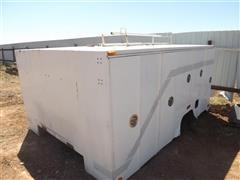 1990 ETI Rescue 122 Enclosed Compartment Truck Bed