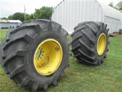United Extra Woodland 73/44x32 Floater Tires & Wheels