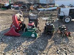 Gas-Powered Lawn Maintenance Machines