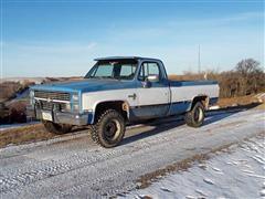 1984 Chevrolet K10 Silverado 4WD Pickup