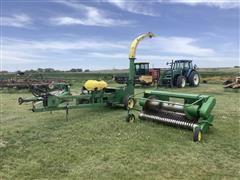 John Deere 3970 Pull-Type Forage Harvester W/Heads