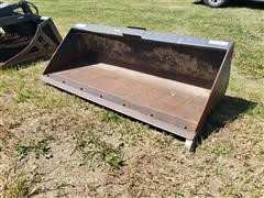 "Stout Heavy Duty 72"" Wide Bucket Skid Steer Attachment"