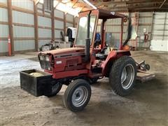 International 244 2WD Utility Tractor W/attachments