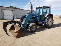 1989 Ford TW5 2WD Tractor W/Loader