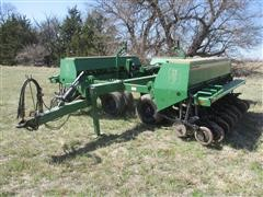 Great Plains Solid Stand 30' Wing Fold 3 Section Double Disc Drill