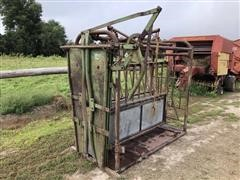 Squeeze Chute With Head Gate