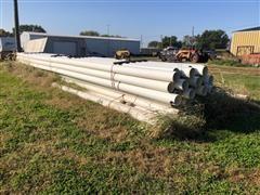 """Kroy 8"""" Under Ground PVC Irrigation Pipe"""