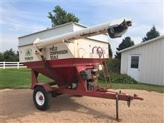 Parker 1500 Gas Powered Weigh Wagon