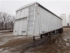 1995 Merrit 43X96X86XBX2XG5 43' T/A Hopper Bottom Trailer