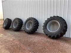Ag-Chem Rogator Goodyear 710/70R38 Tires & Rims