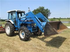 1988 Ford 7710 Tractor