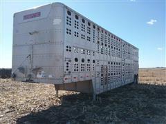 1991 Wilson 48' T/A Livestock Trailer