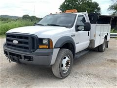 2007 Ford F550 2WD Service Truck