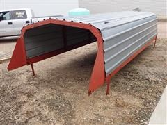 Roorda Front Unload Silage Wagon Top