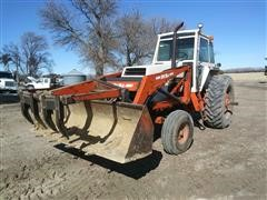 1982 Case 2090 2WD Tractor W/Loader