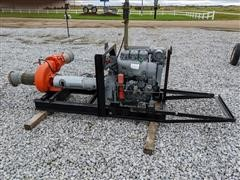 Deutz Power Unit W/Berkeley Pump