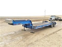 1970 Load King CS252 T/A Fixed Neck Lowboy Trailer