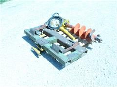 Skid Steer Hydraulic Drive Post Hole Digger
