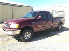 1997 Ford F150 Extended Cab 4x4 Pickup w/Tool Boxes
