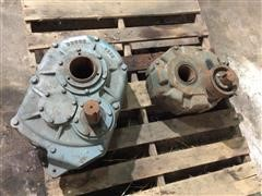Shaft-Mount Speed Reducers - Sterling Electric SMR215 and Dodge TXT615S