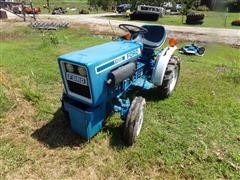 1981 Ford 1100 MFWD Tractor W/Mower Deck