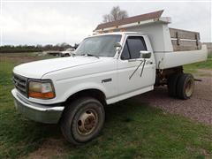 1997 Ford Super Duty Dump Truck