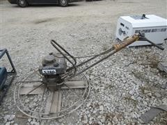 Walk Behind Concrete Power Trowel
