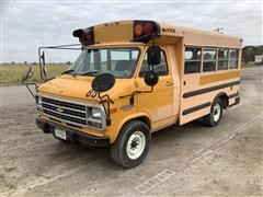 1994 Chevrolet 30 Van Collins School Bus
