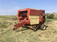 New Holland 855 Auto Wrap Chain Baler