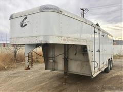 2010 Charmac T/A Enclosed Trailer